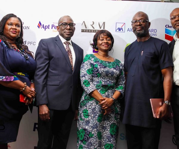 Penop Executive committee members and Head, Coporate communications department National pension Commission